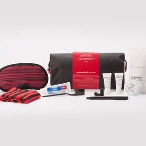 Cole Haan airline amenity kit